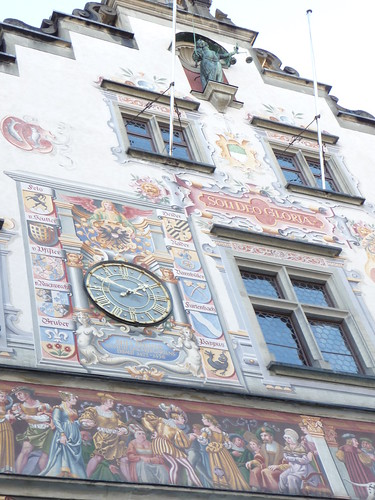 A building in Lindau, which for all intents and purposes was the Town Hall. Youre not likely to know any different, so lets say thats what it was.
