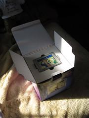 Garmin box