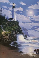 """Guardian of the Sea"" - Detail (Part 2) (steveleenow) Tags: ocean sea sky usa lighthouse sea"
