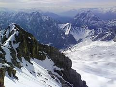 Zugspitze (JUMBOROIS) Tags: mountain snow alps alpes germany deutschland europa europe nieve alemania alpen montaa muntanya neu zugspitze alemanya bavarianalpen