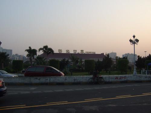 border between zhuhai and Macau
