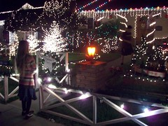 (heavy puff) Tags: california christmas girl cane lights candy little magic lane elsegundo