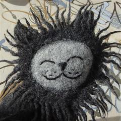 Daydream Cat (Marjji) Tags: wool smile cat lion kitty plush plushie recycle