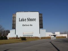 Lake Shore Drive-In (Hammer51012) Tags: movie geotagged theater indiana olympus drivein lakeshore monticello indianabeach whitecounty lakeshoredrivein sp570uz