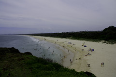New Years Day on Dreamtime Beach (anderlee) Tags: ocean beach dreamtimebeach northernrivers fingalheads 2009yip