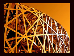 "()  Beijing National Stadium ""Bird's Nest"" () Tags:   distillery herzogdemeuron swissarchitecture flickrsbest  aplusphoto colourartawards olympics2008beijing flickrlovers colorfullaward"