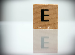 ..{ E is For  Emotion  .... ( Marron Glac) Tags: wood reflection canon eos emotion letters  e letter alphabet marron glac d400 marronglac