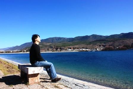 少有旅客走的麗江公路,束河古鎮與白沙壁畫…