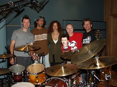 Tracking session for Armand & Angelina album