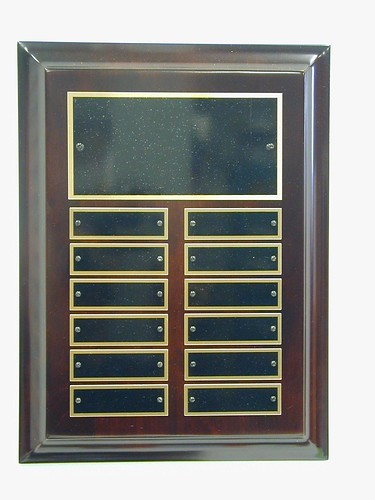 Perpetual Plaques by Bux-Mont Awards