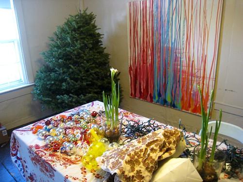 The Christmas Tree Coming Down