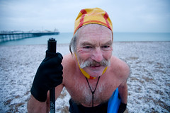 chilled super dave (lomokev) Tags: morning portrait people snow man male beach sport dave swim canon eos pier brighton snowy hardcore 5d mustache swimmers canoneos brightonpier palacepier superdave swimmingclub canoneos5d brightonswimmingclub snowyswim snowyswim2009 file:name=mg2819