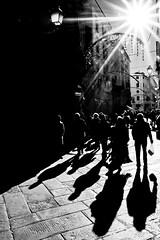 Ombre (Batz17) Tags: light shadow portrait people silhouette blackwhite gente lucca ombre persone luci riflessi ritratti sagome controsole bnbiancoenero uominidonne byvalentinamanfredini viabeccheria comperenatalizie
