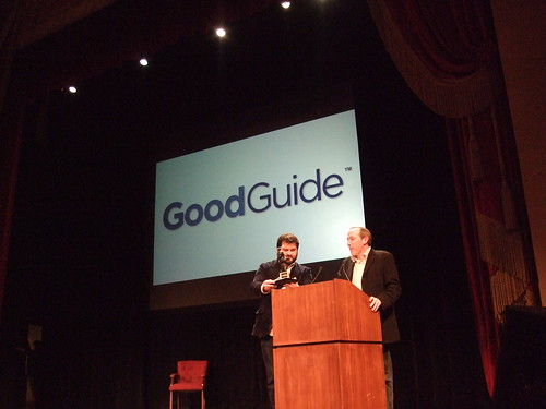 Good Guide wins Most Likely To Make The World a Better Place
