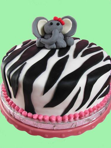 jungle baby shower cake 4
