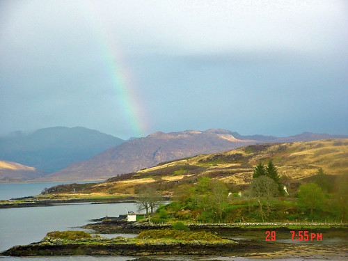 View from Isleornsay, Isle of Skye