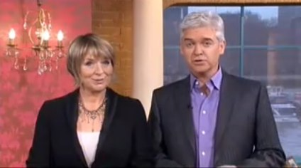 Ben Ayers » Phillip Schofield talks Twitter on This Morning