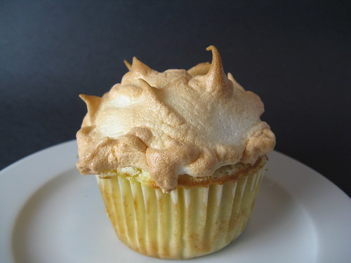 Pineapple Meringue Cupcake