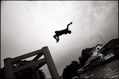 i want fly (fly) Tags: river thailand kid asia bangkok dive khlong fly simonkolton