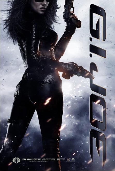 G.I. Joe Sienna Miller poster