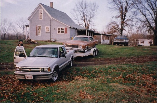 car montecarlo chevy 1995 trailer 1972 1976 s10 k10 greenup