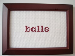 balls (benjibot) Tags: crossstitch crafts balls
