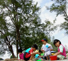 The Kids & cousins @ Kuala Sedili