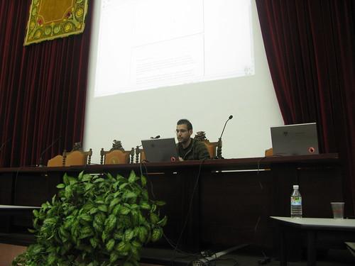 I jornada de Software Libre, Facultad de Ciencias Económicas y Empresariales (by jmerelo)