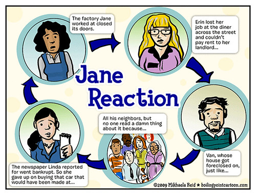Toon: Jane Reaction