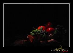 Still Life (Madhu P. Nair Photography) Tags: life longexposure light stilllife lightpainting home canon painting bahrain still lowlight creative brushing torch 50d ef70200f28lisusm ontripod lightbrushing ©2009allrightsreserved madhupnairphotography