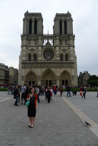 Meredith at Notre Dame