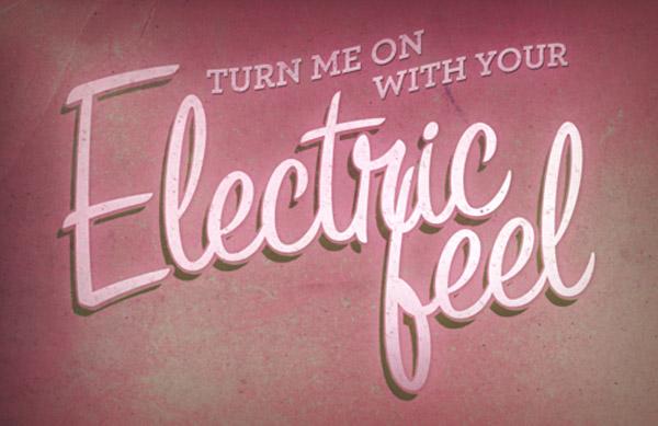 Electric feel via tumblr