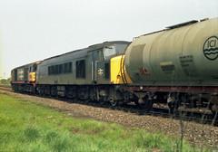 Class 58 and 45 Burton 1987 (Rob.S.) Tags: other rail marker railways 58 4456 diesellocos burtonontrentarea