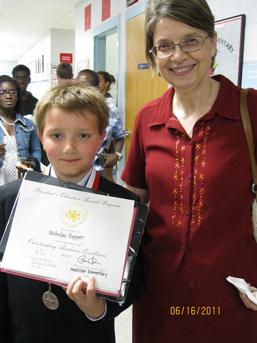 6/16/11: 5th grade promotion