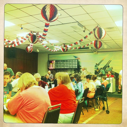 Bingo Night at the Legion