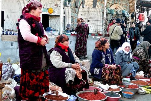 Vendors - -Urgut, Uzbekistan