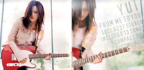YUI from me to you 01