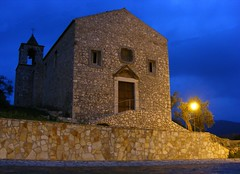 """Chiesa Madonna di Loreto """"Notturno"""" (Will click) Tags: campania madonna chiesa castelo borgo medievale loreto caserta medioevale """"middle vairano ages"""""""