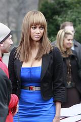 Tyra Banks peluca con cerquillo