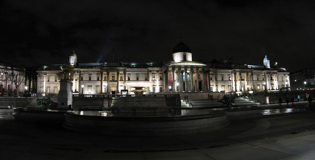 National Gallery from Trafalgar Square