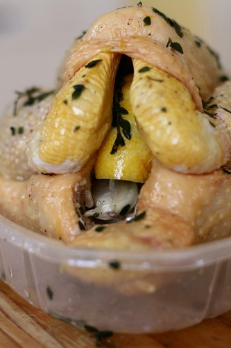 Lemon and garlic roast chicken 2