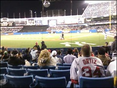 Yankees (terrencerwilliams) Tags: red home sox 8 plate rows vs behind yankees