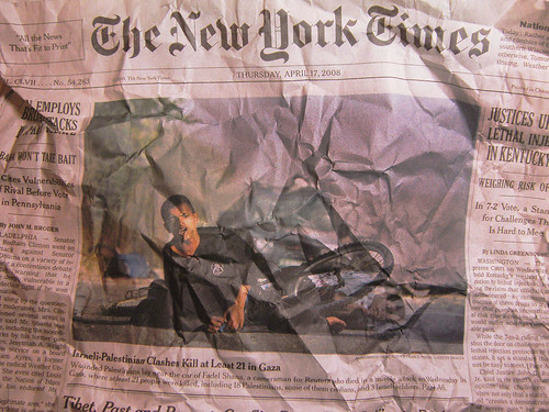 The Battered New York Times