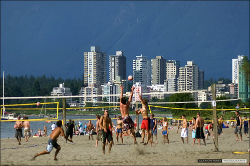 Beach Volleyball In Vancouver