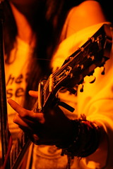 in the chord mood (Davidrummer) Tags: music canon eos 350d cafe riverside band taiwan rocker taipei   deserts ef70200mmf4l livehouse   iso80 digitalshot iso8001600