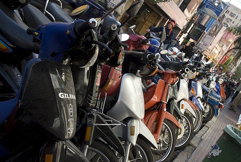Mopeds in Cordoba