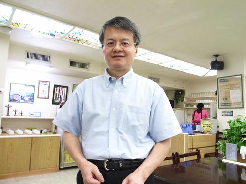牛爸爸牛肉麵:老闆王先生
