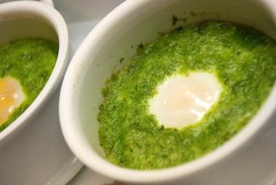 Asparagus Baked Eggs