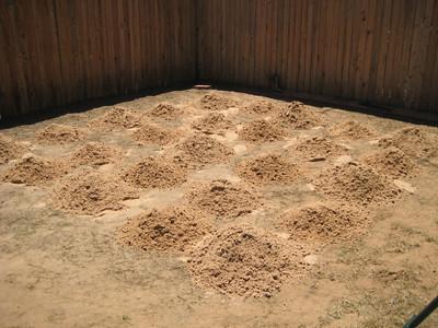 OCD Sand Piles