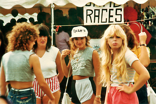 Girls at Coral Springs festival, 1983 by StevenM_61.